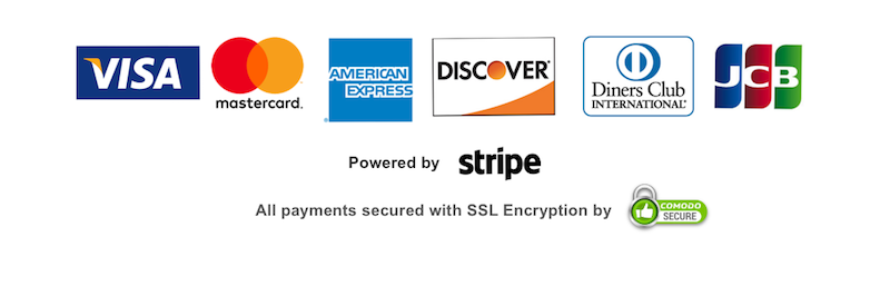 make a secure payment with these major credit and charge cards: visa, mastercard, amex, discover, diners club and jcb